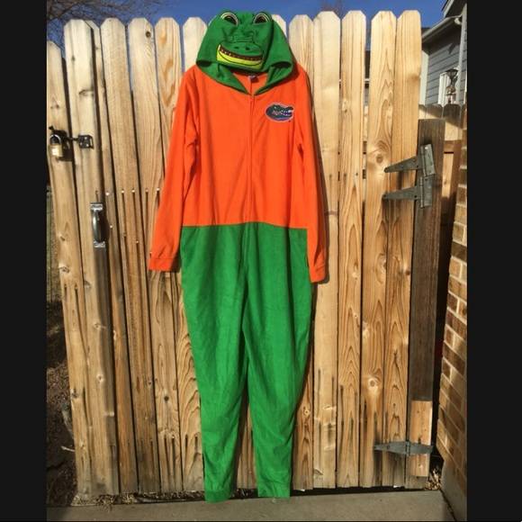 0fe60e74 NCAA Unisex Adult Hooded Onesie Florida Gators